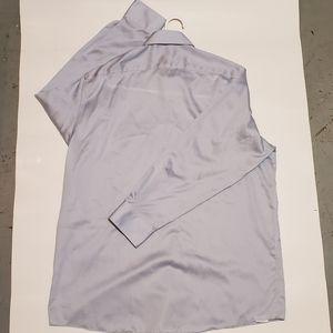 Michael kors long sleeve button sleeve grey  16.5